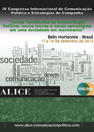 IV Congresso Internacional de Comunicação Política e Estratégias de Campanha será realizado em Belo Horizonte