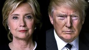 Hillary Clinton e Donald Trump são os favoritos para concorrer por seus partidos. Foto: CNN.com.