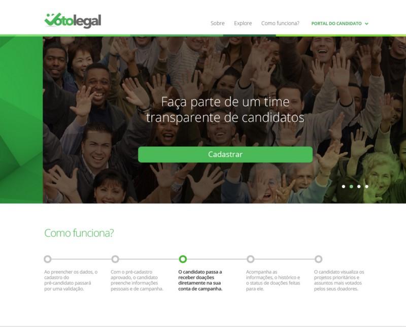 Primeira plataforma de crowdfunding para campanhas estreia hoje no Brasil