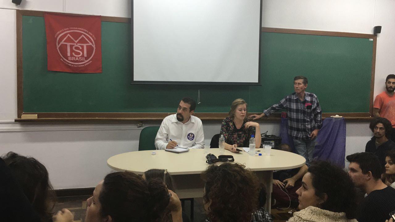 """Na UFPR, Boulos faz discurso crítico aos retrocessos e à """"Disneylândia financeira"""" que virou o Brasil"""