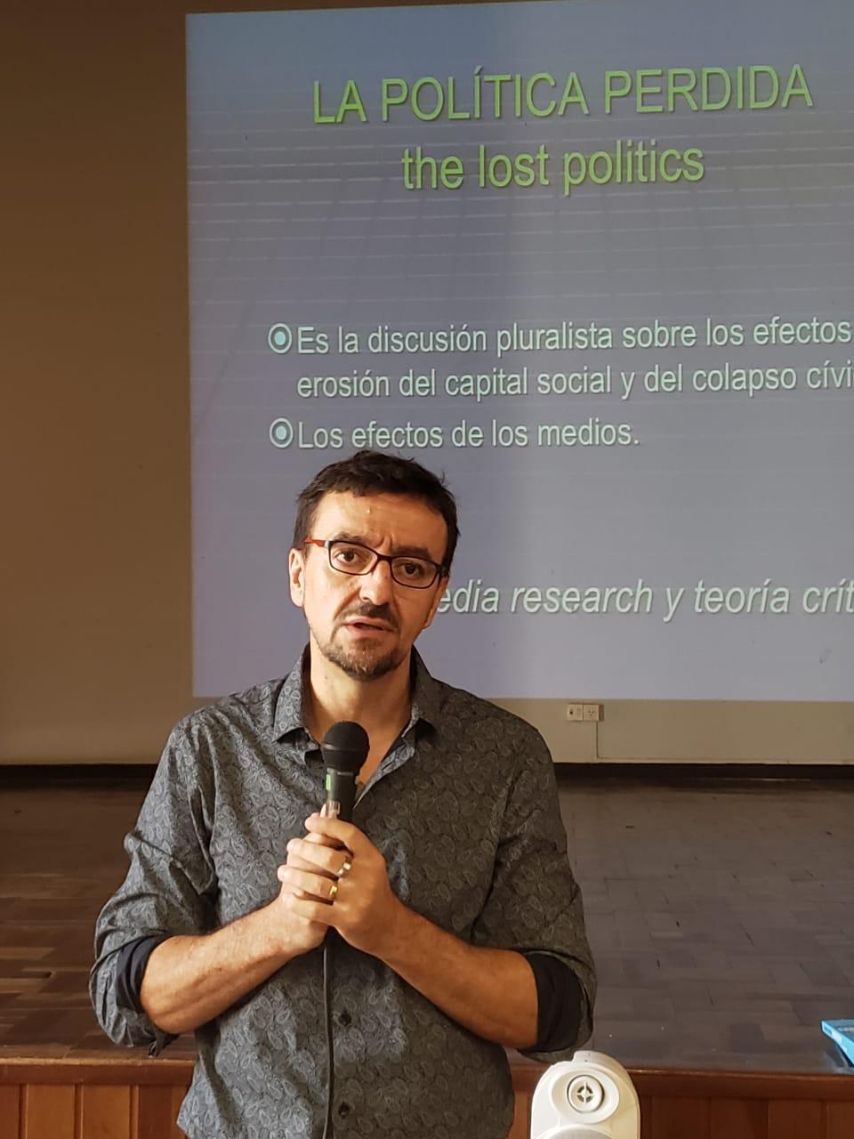 Mario Riorda faz palestra de abertura da I Escola de Verão Alice/Compolítica