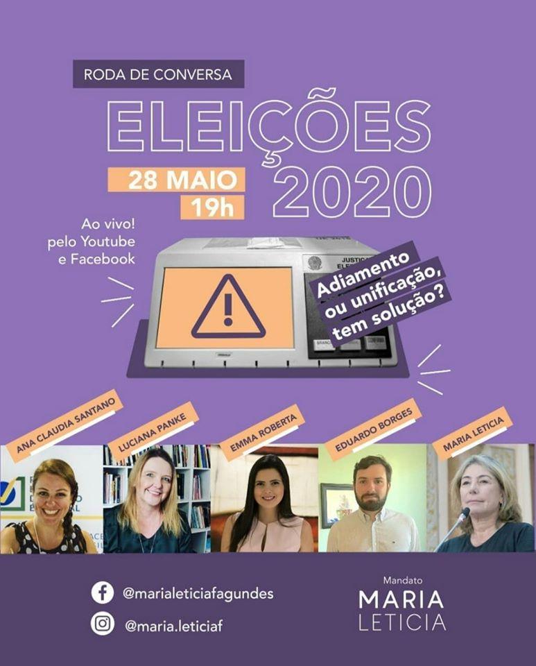 Roda de Conversa Eleições 2020