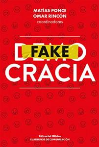 "Capa do livro ""Fakecracia"". Créditos da imagem: Amazon Kindle"