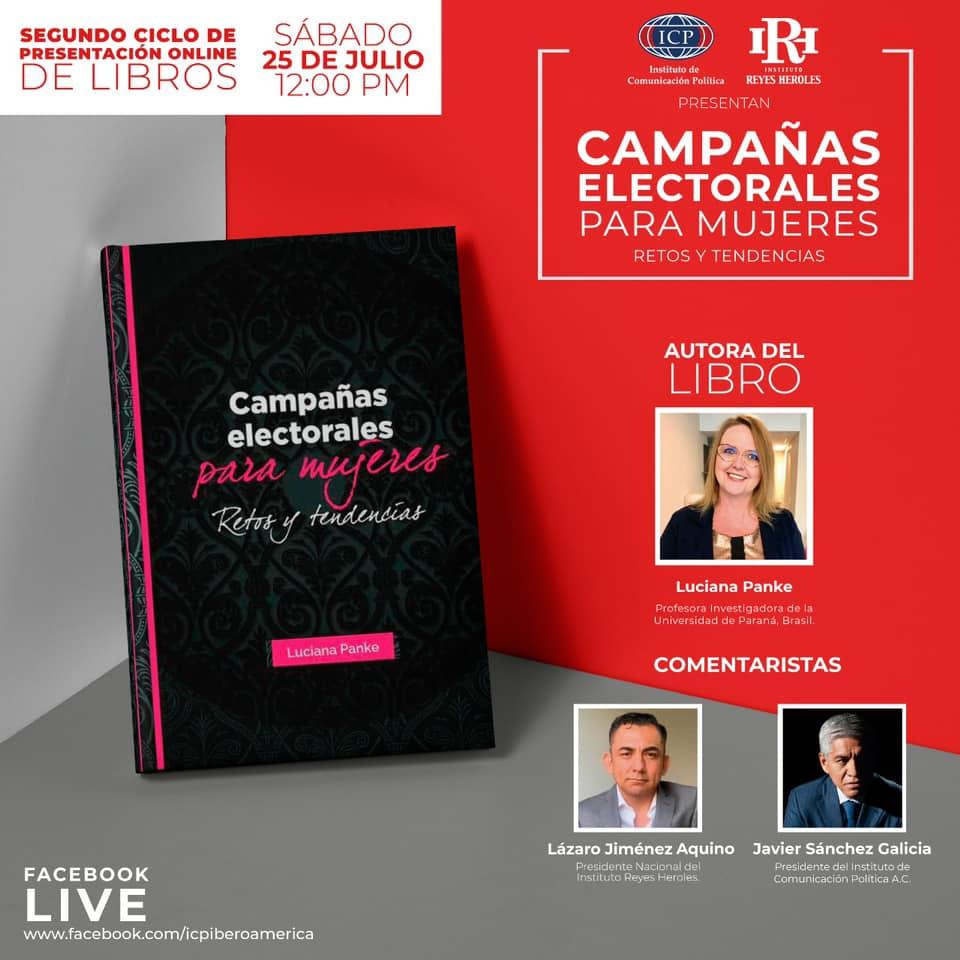 Luciana Panke, líder do CEL, apresenta seu livro em evento online