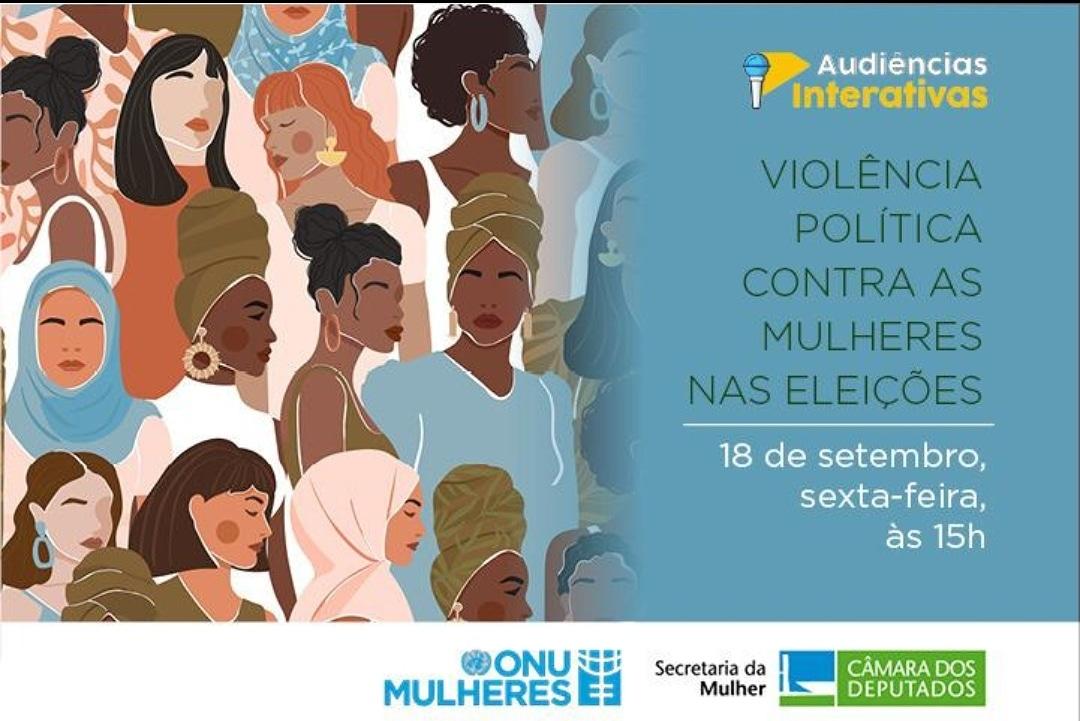 É o #CELnaONU: Líder do Grupo participa de audiência interativa sobre violência política contra as mulheres