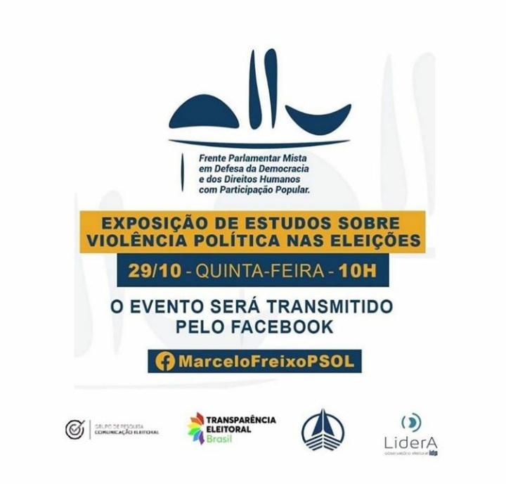 O 'Observatório de Violência Política contra as Mulheres' é apresentado à Frente Parlamentar Mista em audiência virtual