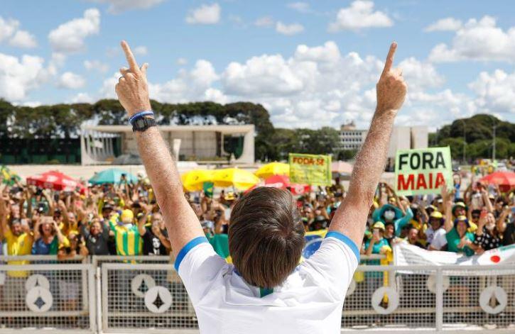 Não, pô! A negação da pandemia nas palavras de Jair Bolsonaro
