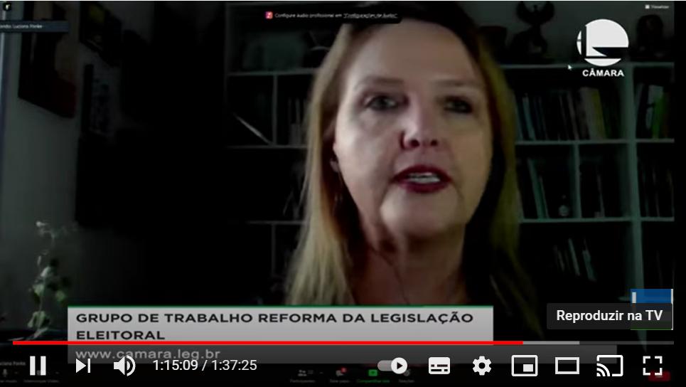Líder do CEL participa de Audiência Pública sobre Propaganda Eleitoral