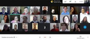 Equipe do CEL se reúne para o primeiro encontro de 2021