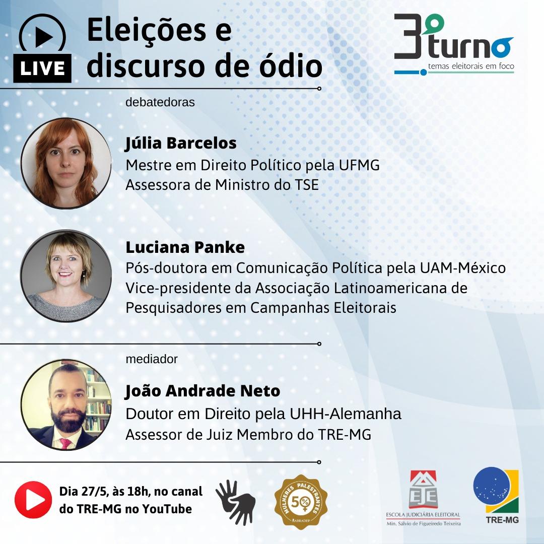 Líder do CEL participará de evento sobre eleições e discurso de ódio