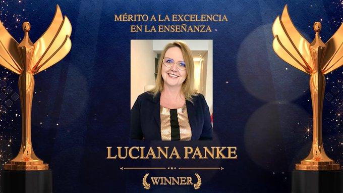 Luciana Panke é premiada pela segunda vez nos Estados Unidos