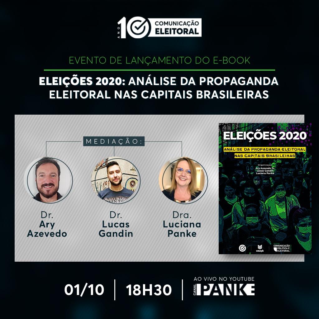 Lançamento do segundo eBook sobre as eleições 2020